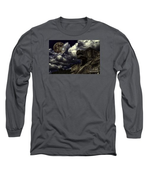 Eye To The Sky Long Sleeve T-Shirt by Ken Frischkorn