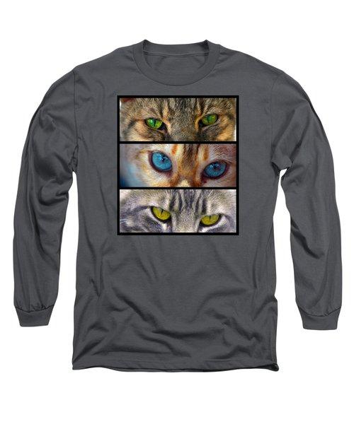Eyes 1 Long Sleeve T-Shirt