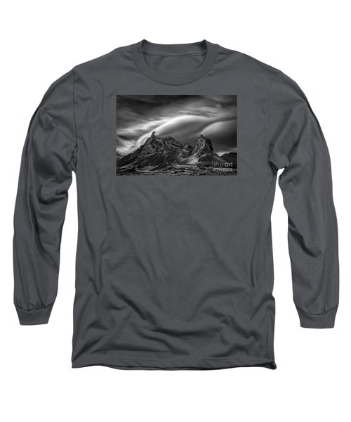Eystrahorn, Iceland Long Sleeve T-Shirt