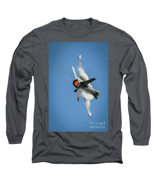F-16 Banks Right Long Sleeve T-Shirt