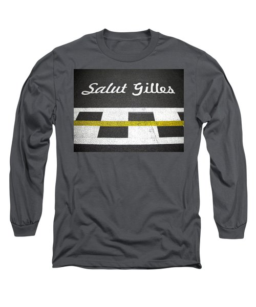 F1 Circuit Gilles Villeneuve - Montreal Long Sleeve T-Shirt