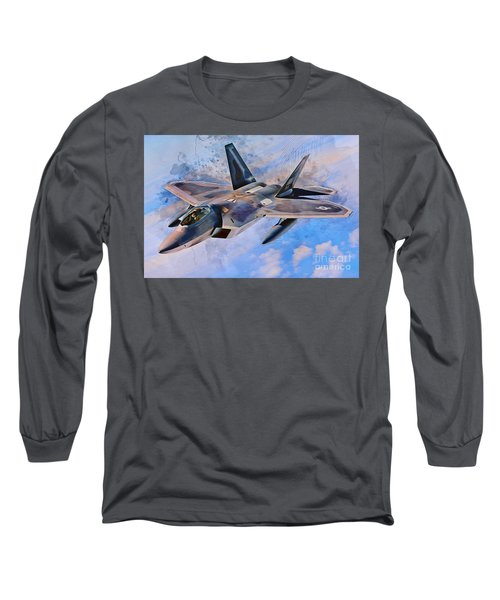 F22 Raptor Long Sleeve T-Shirt