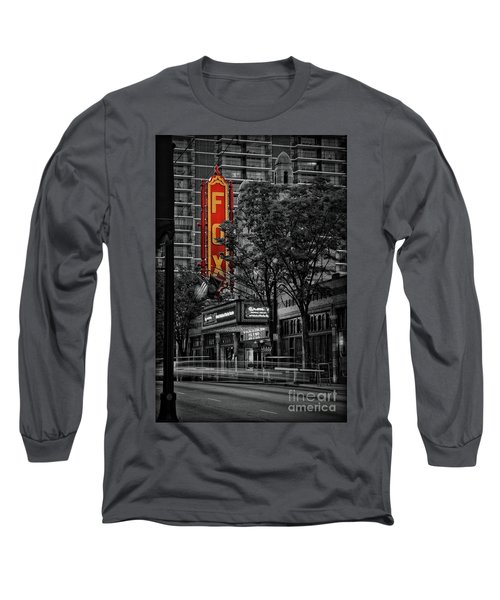 Fabulous Fox Theater Long Sleeve T-Shirt