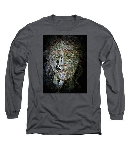 Face Of An Angel 11 Long Sleeve T-Shirt by Maria Huntley