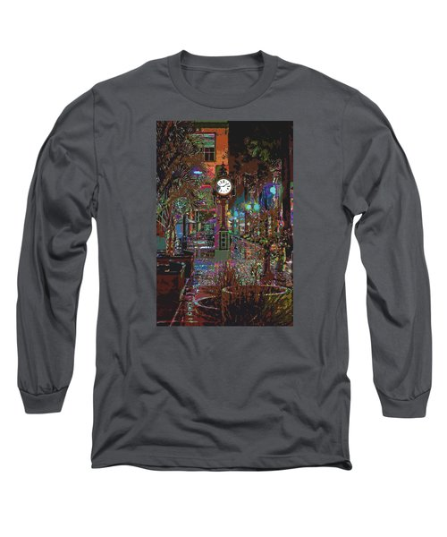 Face Of Color Long Sleeve T-Shirt