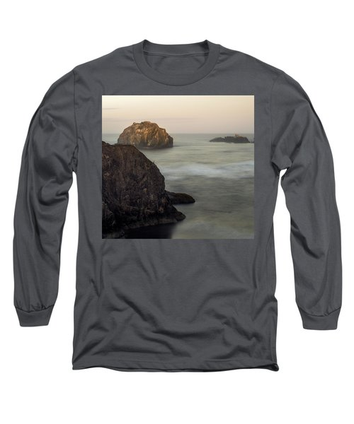 Face Rock Sunrise Long Sleeve T-Shirt