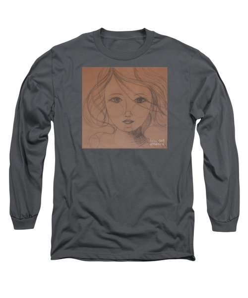 Face Study Long Sleeve T-Shirt by Tamyra Crossley