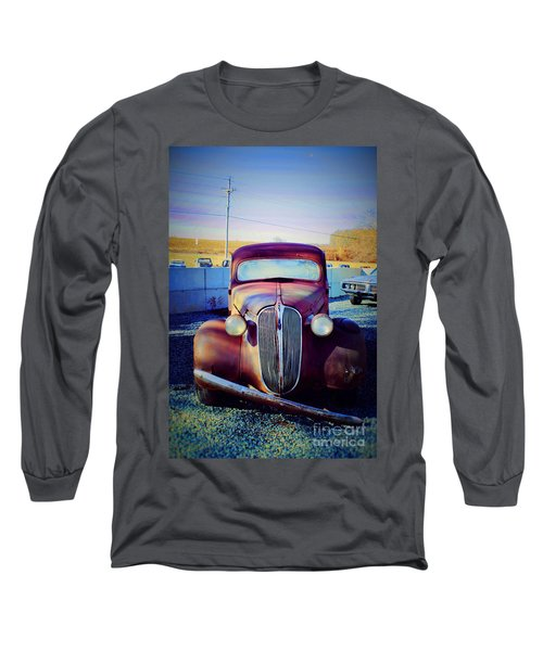 Facelift Wanted Car Long Sleeve T-Shirt