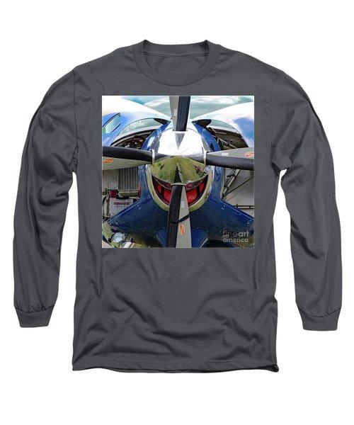 Faces Of Oshkosh 2012. #03 Long Sleeve T-Shirt by Ausra Huntington nee Paulauskaite