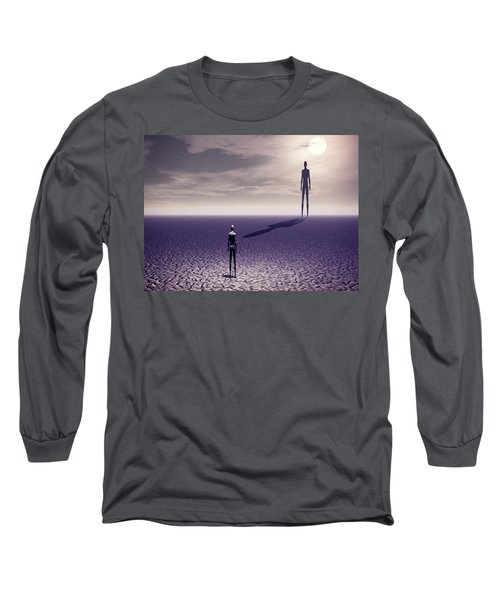 Facing The Future Long Sleeve T-Shirt