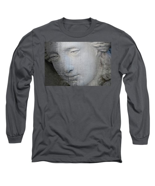 Faded Statue Long Sleeve T-Shirt