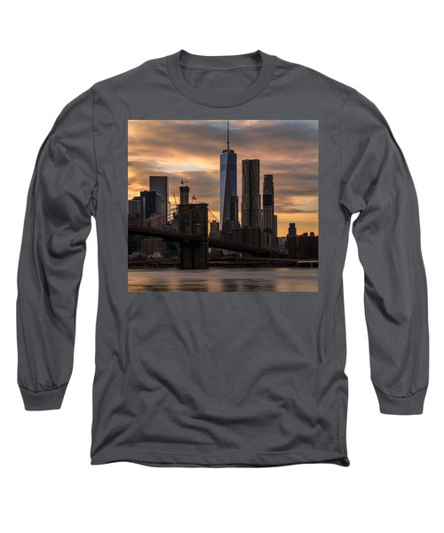 Long Sleeve T-Shirt featuring the photograph Fading Light  by Anthony Fields