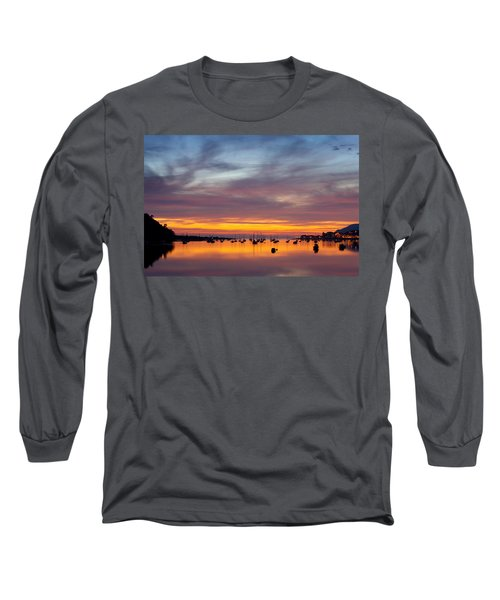 Fading Light, Conwy Estuary Long Sleeve T-Shirt
