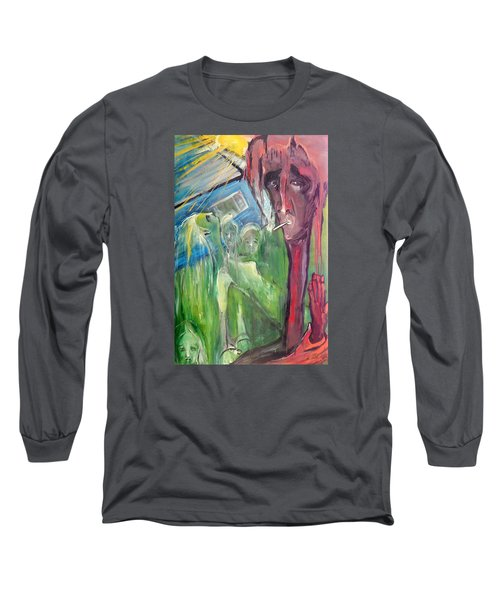 Faintly Visionary Long Sleeve T-Shirt