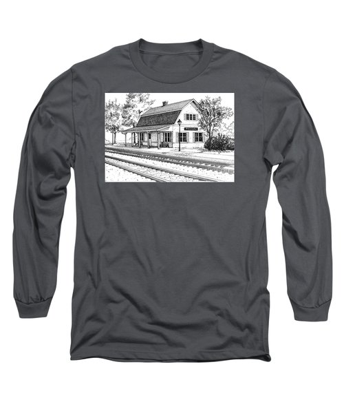Fairview Ave Train Station Long Sleeve T-Shirt