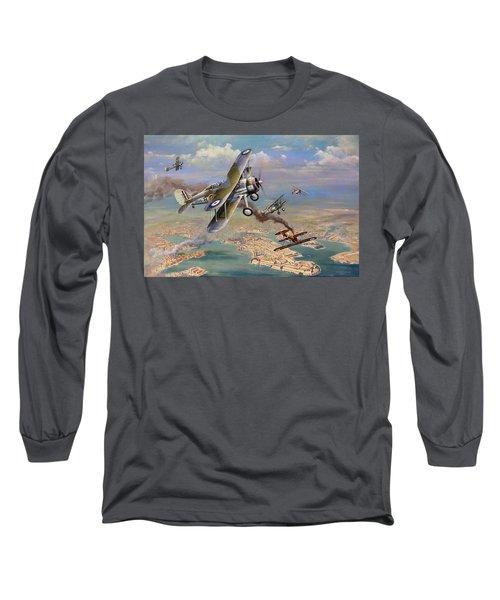 'faith, Hope And Charity' Long Sleeve T-Shirt