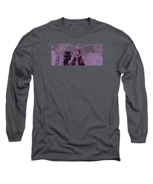 Falcon Gun Turret Long Sleeve T-Shirt by Kurt Ramschissel