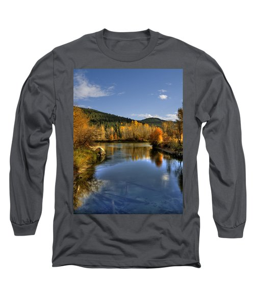 Fall At Blackbird Island Long Sleeve T-Shirt