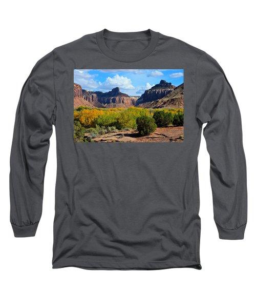 Fall At Indian Creek Long Sleeve T-Shirt