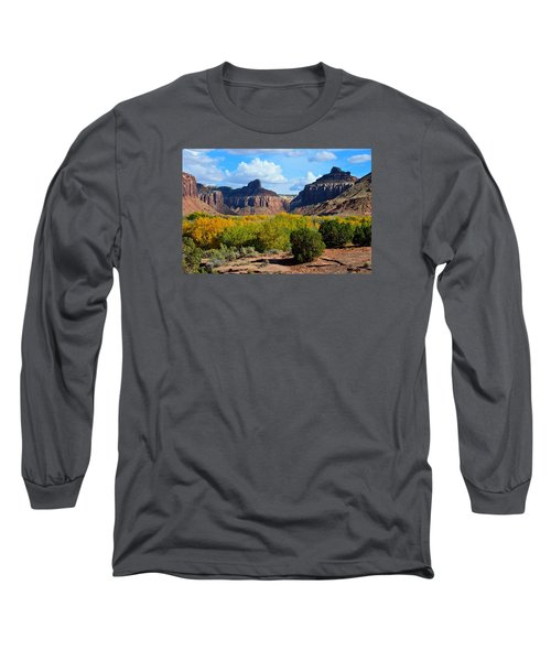 Fall At Indian Creek Long Sleeve T-Shirt