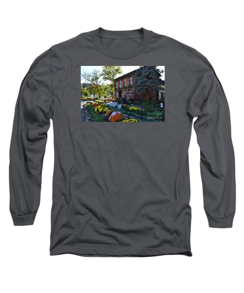 Fall At Lanier Winery In Madison  Long Sleeve T-Shirt