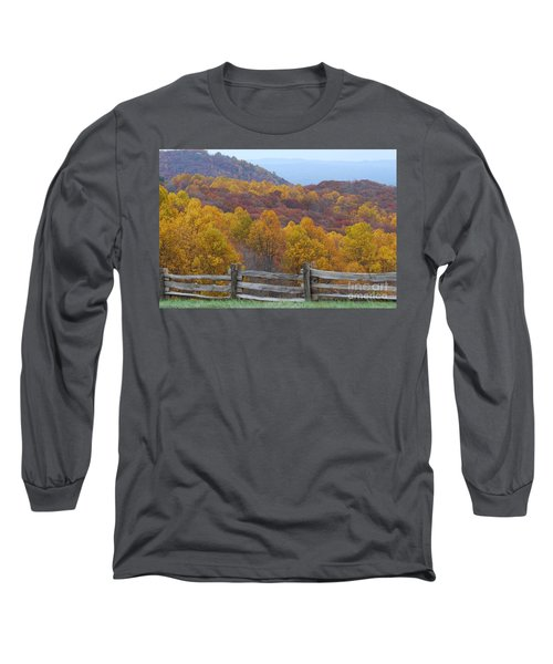 Long Sleeve T-Shirt featuring the photograph Fall Blend by Eric Liller