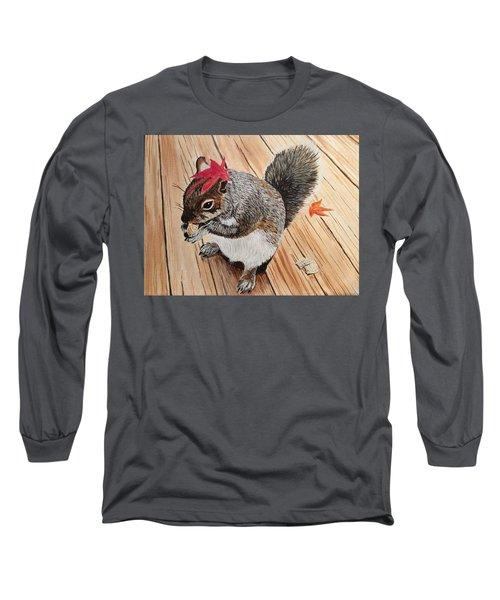 Fall Bonnet Long Sleeve T-Shirt