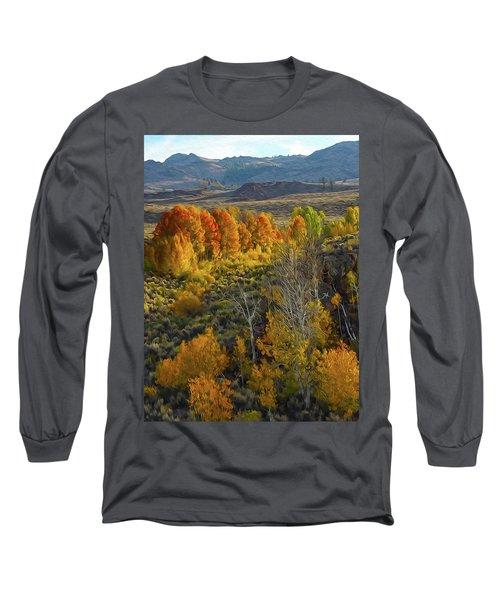 Fall Colors At Aspen Canyon Long Sleeve T-Shirt