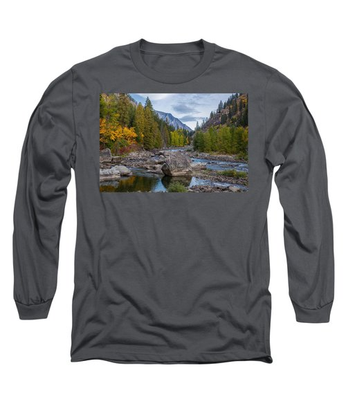 Fall Colors In The Canyon Long Sleeve T-Shirt