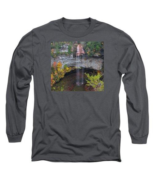 Fall Creek Falls 265 Feet Long Sleeve T-Shirt