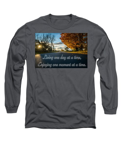 Fall Day With Saying Long Sleeve T-Shirt