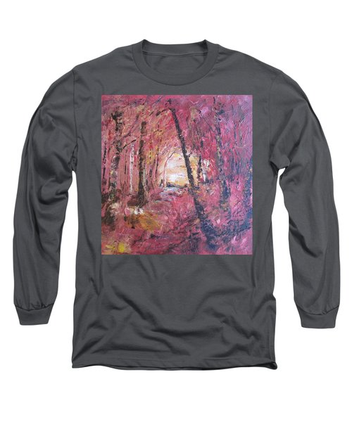 Fall Fire Long Sleeve T-Shirt