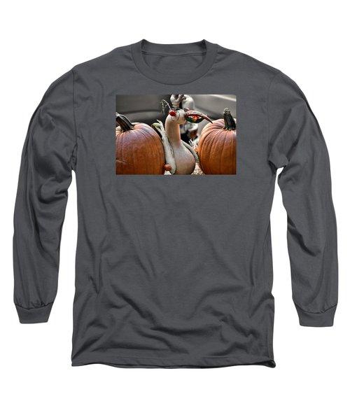 Fall Fowl Long Sleeve T-Shirt by JAMART Photography