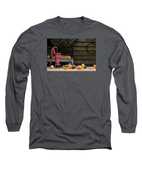 Fall Gourds Long Sleeve T-Shirt