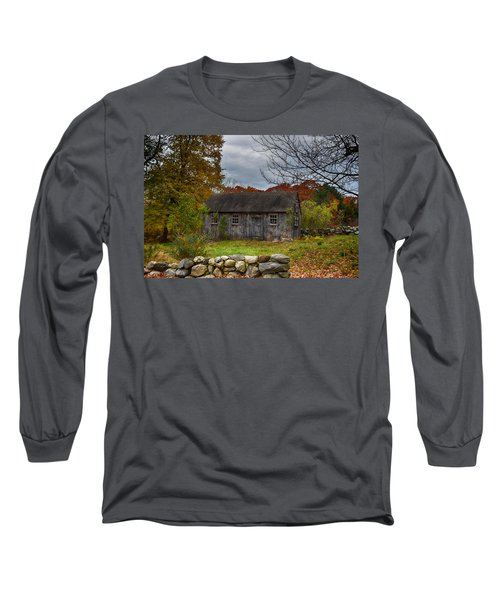 Fall In New England Long Sleeve T-Shirt by Tricia Marchlik