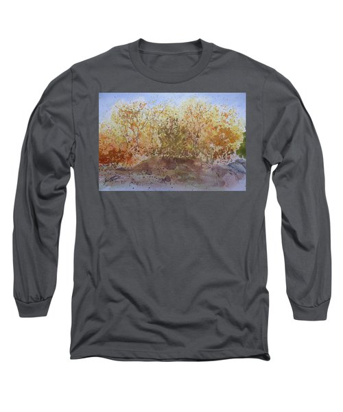 Fall In The Tejas High Country Long Sleeve T-Shirt by Joel Deutsch