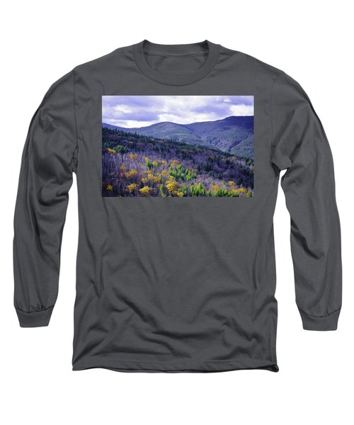 Fall In The White Mountains Long Sleeve T-Shirt
