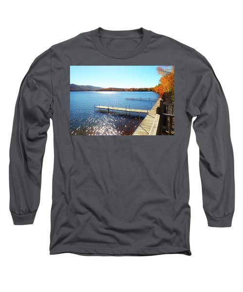 Fall On Lake Dunmore Long Sleeve T-Shirt