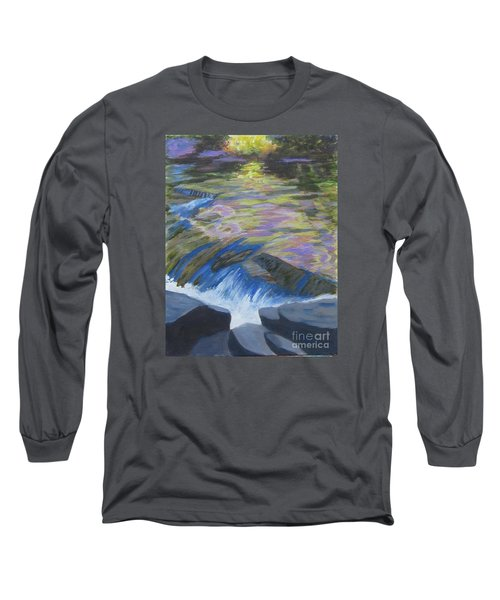 Fall Reflections Long Sleeve T-Shirt by Anne Marie Brown