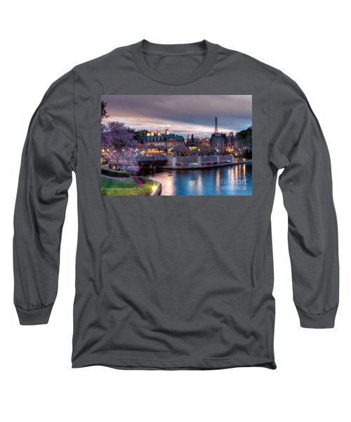 Fall Sunset Of France Long Sleeve T-Shirt