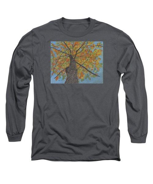 Fall Up Long Sleeve T-Shirt by Arlene Crafton