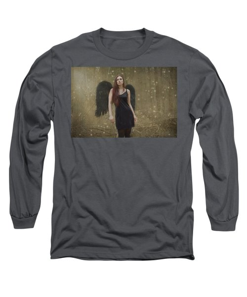 Long Sleeve T-Shirt featuring the photograph Fallen Angel by Brian Hughes