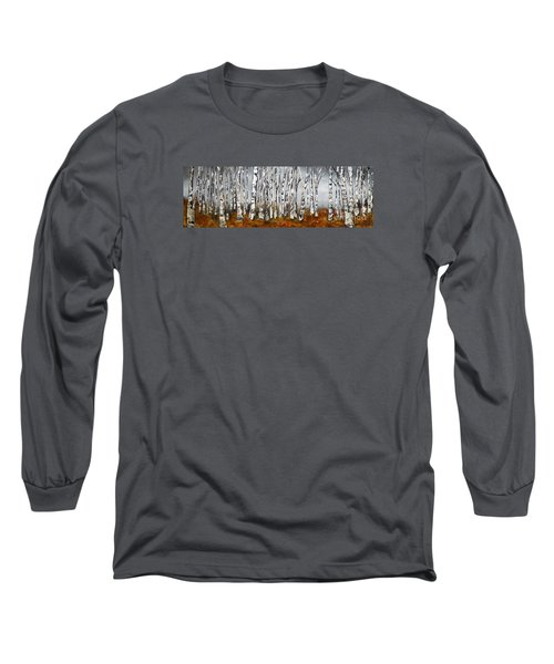 Long Sleeve T-Shirt featuring the painting Fallen by Chad Berglund
