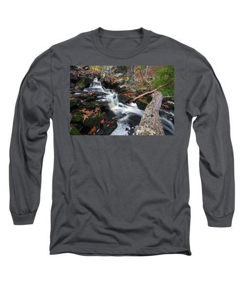 Fallen In Danforth Falls Long Sleeve T-Shirt