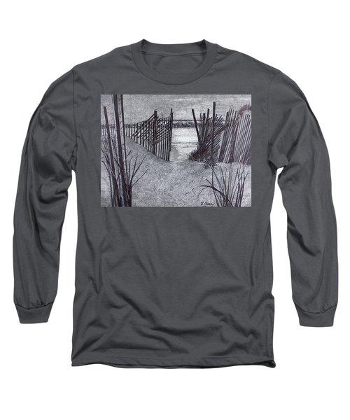 Falling Fence Long Sleeve T-Shirt