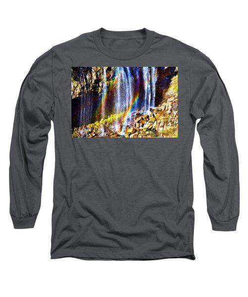 Falling Rainbows Long Sleeve T-Shirt