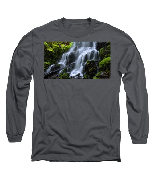 Long Sleeve T-Shirt featuring the photograph Falls by Chad Dutson
