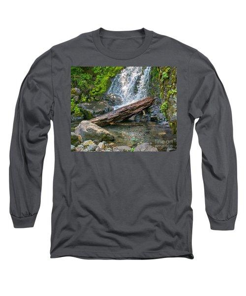 Falls Creek 0742 Long Sleeve T-Shirt by Chuck Flewelling