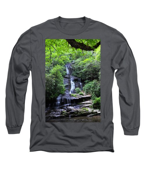 Falls Near Bryson City Long Sleeve T-Shirt