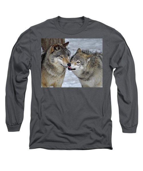 Long Sleeve T-Shirt featuring the photograph Familiar by Tony Beck